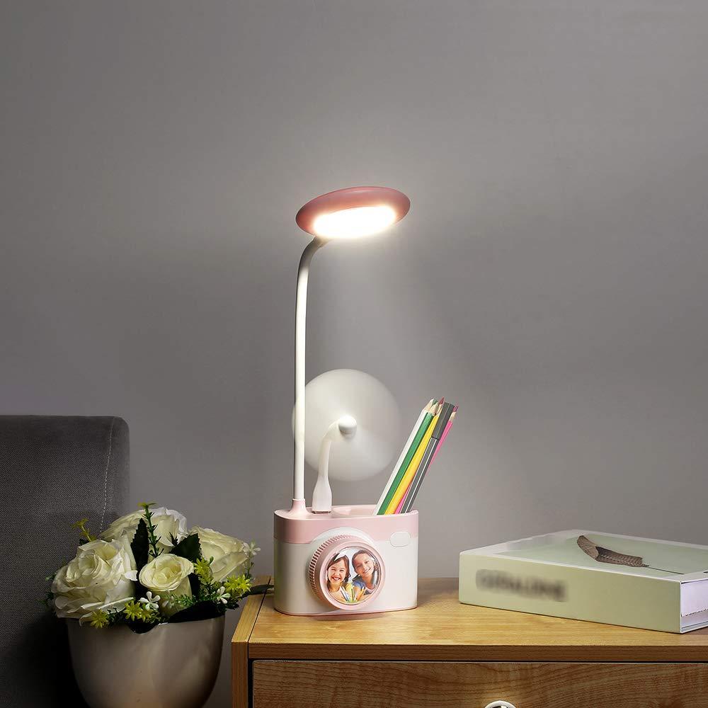 Lilideni Cámara C8 Lámpara de Mesa LED Luz Nocturna Cameral ...