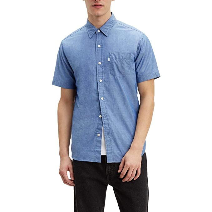 Levi's SS Classic One Pocket Holloway True Camicia Uomo Blu