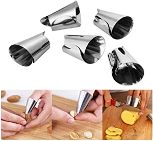 5 PiecesHand Finger Protector,Peelers for Nuts,Lobster,Seafood Sheller for Crab Legs,