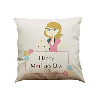 Funda de cojín con Texto en inglés I Love You Mom Sofa Bed ...