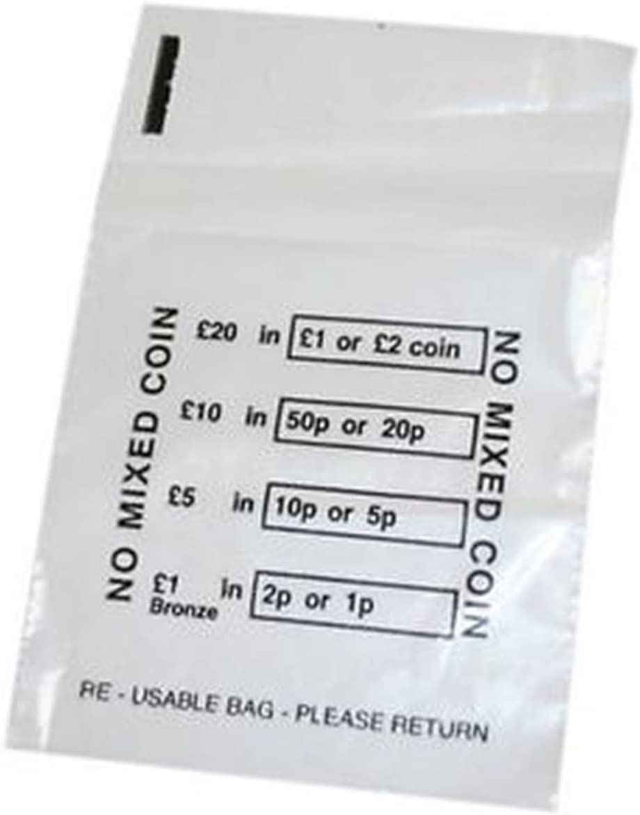 No Mixed Coin Bags Pounds Sterling 50 Coin Bags