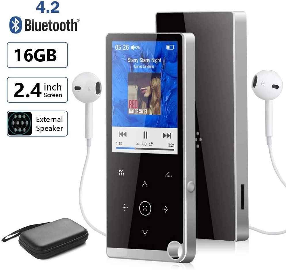 Ociodual Reproductor MP3 con Clip Blanco