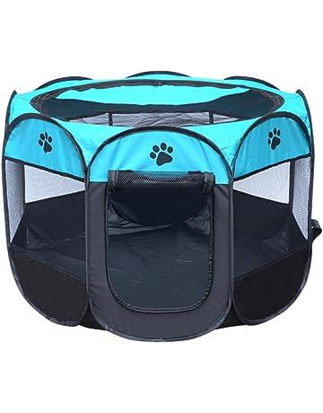 Babysbreath17 Portátil Carpa plegable para mascotas Dog House jaula del gato de casa de perro Tienda