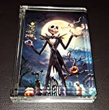 Nightmare Before Christmas Jack Skellington GLOW IN THE DARK Acrylic Executive Display Piece Desk Paperweight