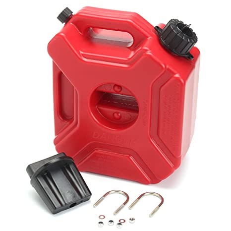 Plastic Gas Cans >> Youngfly Gas Can 1 3 Gallon Portable Fuel Oil Petrol Diesel Storage Gas Tank Emergency Backup For Motorcycle Car Suv Atv With Lock Oil Pack Fuel Cans