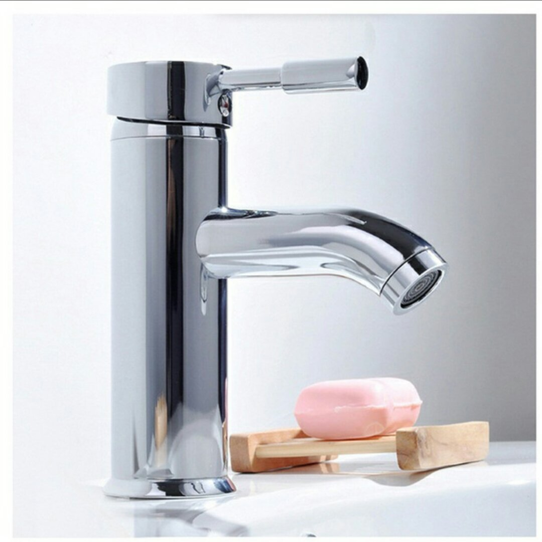 TOTAL HOME : Modern Hot/Cold Chrome Bathroom Sink Faucet Water ...