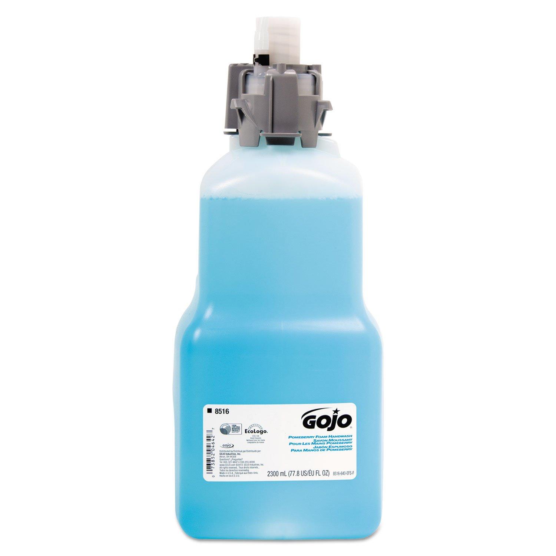 GOJO FOAM SOAP RFL W/MOISTRZ POMEBERRY 4