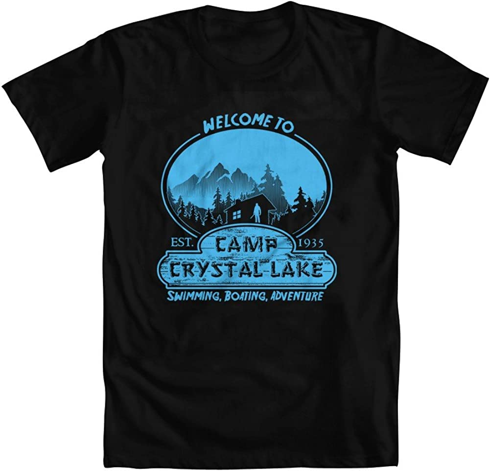 GEEK TEEZ Camp Crystal Lake Youth Girls T-Shirt