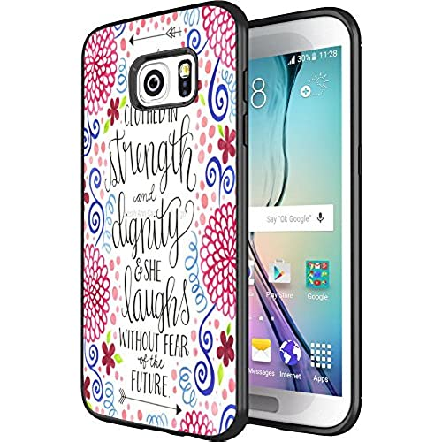 DOO UC(TM) Galaxy S7 Edge Case, Laser Technology for Protective Case for Samsung Galaxy S7 Edge Black Daisy pattern Sales