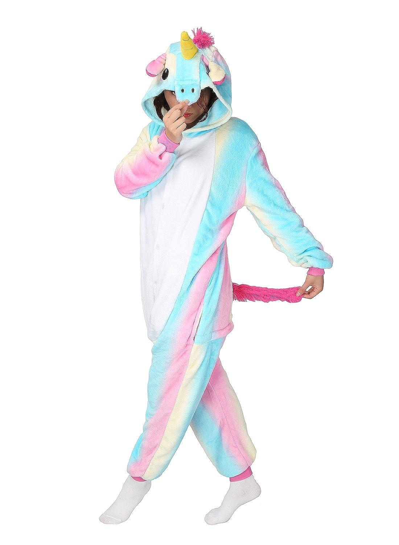 TALLA large. Disfraz Pijamas Ropa De Noche franela Adultos Unisex Animal Carnaval Cosplay Festival de Carnaval Halloween Navidad