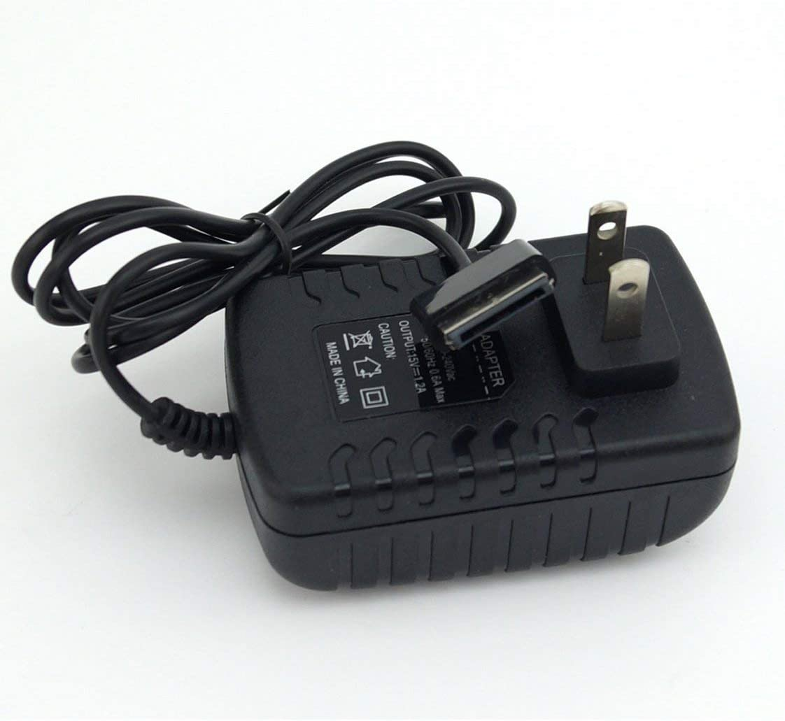 15V 18W AC Laptop Power Charger Supply Adapter for Asus Transformer TF101 A1 B1 Tf101g; Transformer Prime Tf201 Tf300t Tf300tl Tf300tg Tf700t Eee Pad ...