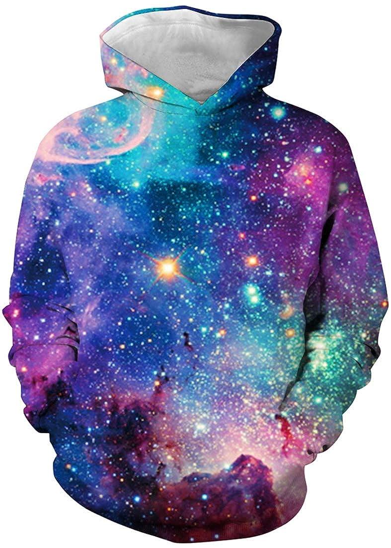 Pandolah Kids 3D Animal Print Hoodie Sweater Pocket Pullover Chirstmas Sweatshirt