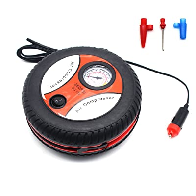 Car Air Compressor Tire Inflator - MOTONG 12V Auto Inflatable Pumps Electric Tire Inflaters 260psi (Hand Tool): Home Improvement