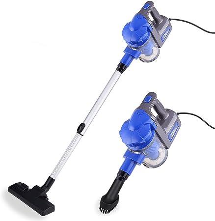 Uten Aspiradora portatil para casa Mano y Vertical aspiradoras Manual sin Bolsa 2 en 1 Limpiador Potente 700W (Azul Aspiradora): Amazon.es: Hogar