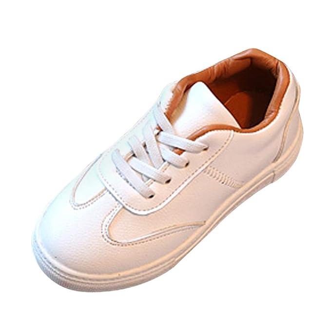 YanHoo Zapatos para niños Entrenadores Zapatillas de Deporte Zapatillas Deportivas para bebés Infantiles Ocasionales Calzado Deportivo de Corte bajo para ...