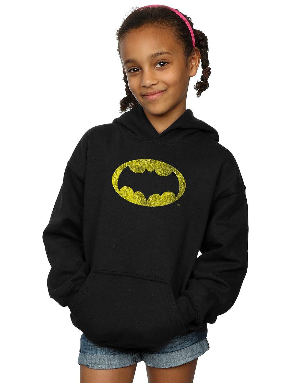 Absolute Cult DC Comics Fille Batman TV Series Distressed Logo Sweat À Capuche