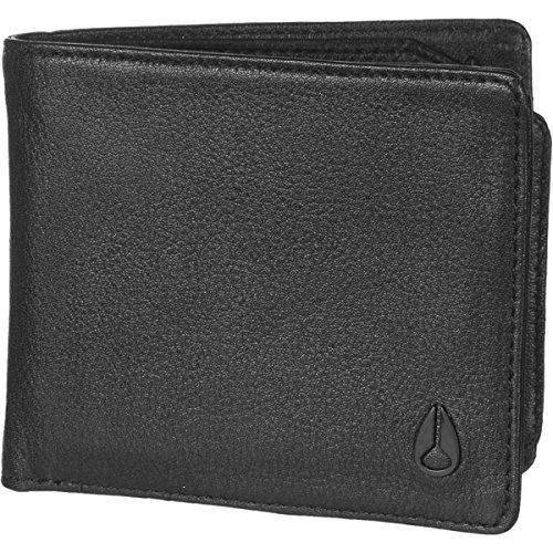 Big Bill Bi Fold Wallet (Nixon Unisex Satellite Big Bill Bi-Fold ID All Black Wallet)
