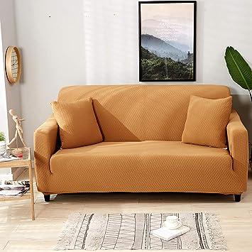 KELE Gruesas Funda de sofá, 1 2 3 4 plazas Color Puro ...