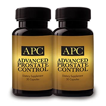 Advanced Prostate Control - Dietary Supplement - 2 Bottle Supply -Reignite Virility and Throw the