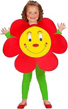 Amakando Traje Infantil Floral | Disfraz Dulce de Flor | Disfraz ...