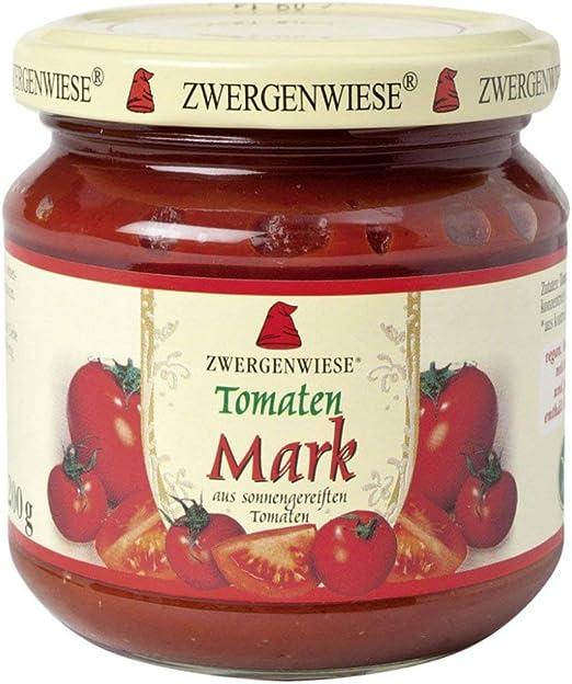 Pasta de tomate (sin gluten) 22% BIO 200 g - ZWERGENWIESE