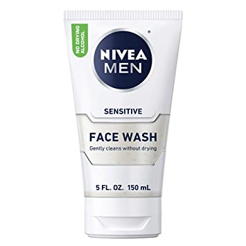 nivea sensitive face wash