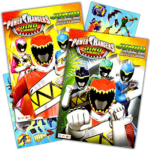 Power Rangers Coloring Book Super Set -- 2 Coloring and Activity Books and Over 50 Stickers (Ranger Power Rangers)
