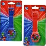 PJ Masks Digital Watch on Blister Card 2 Colors Asstd.