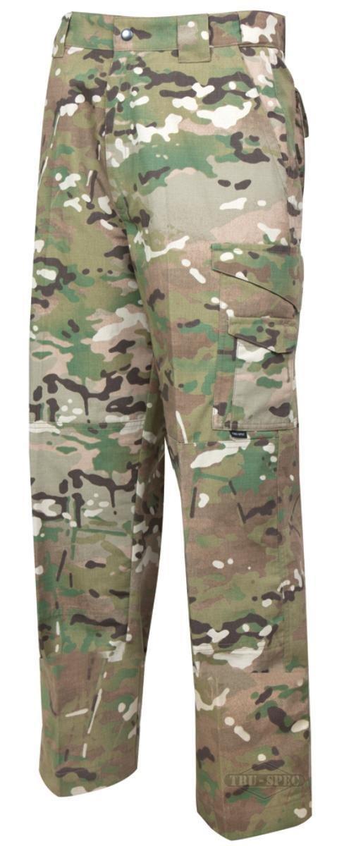 Tru-Spec Men's 24/7 Tactical Pants, Multicam, 48 X Unhemmed