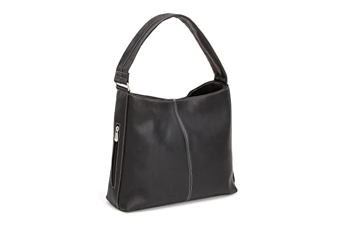 c61192c717 Amazon.com  Le Donne Shoulder Tote Bag with Side Zip Pocket