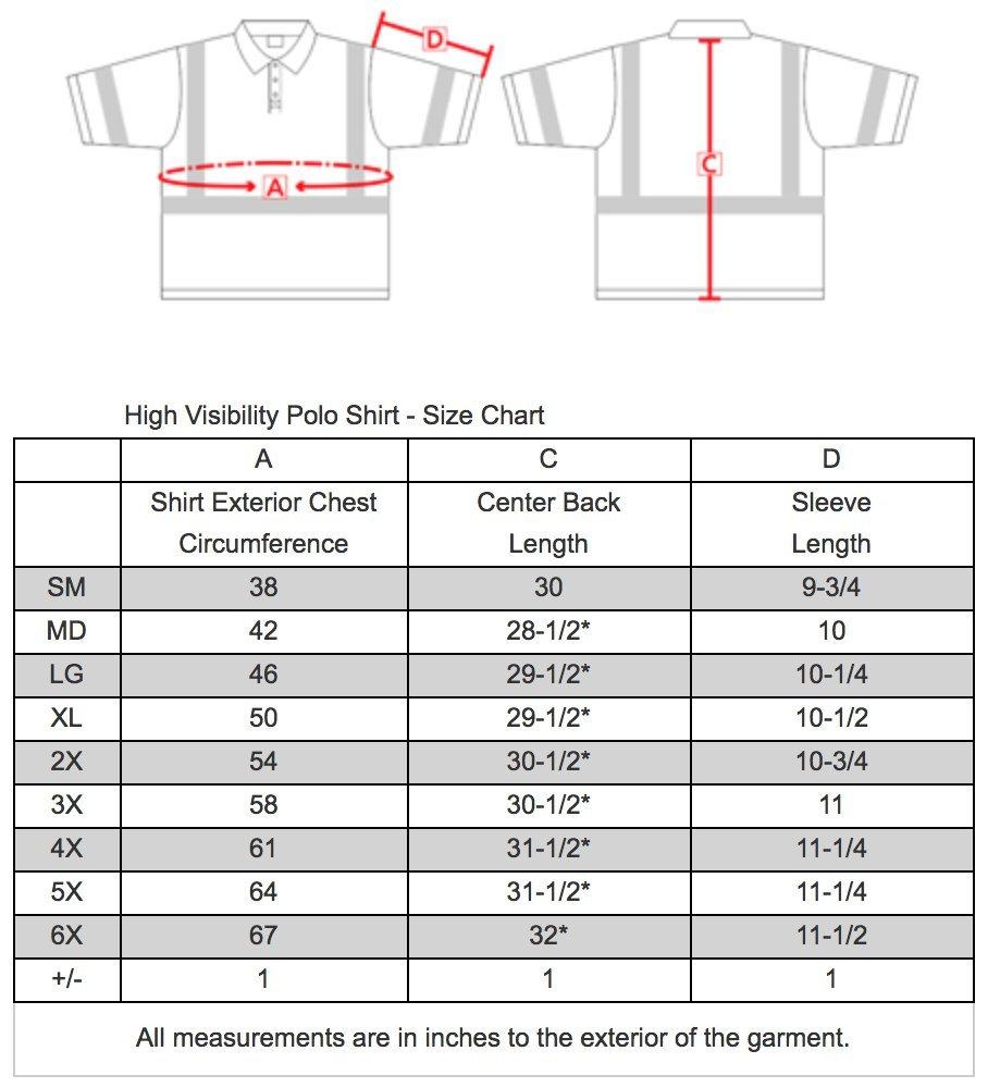 Brite Safety Style 220 Hi Vis Polo Shirt | Short-Sleeve Safety Shirt | 3M Scotchlite Reflective Tape | Birdseye Moisture Wicking Fabric | ANSI Class 3 | for Men & Women (Hi Vis Yellow, Large)