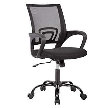 Superb Ergonomic Mesh Computer Office Desk Midback Task Chair W/Metal Base, One  Pack