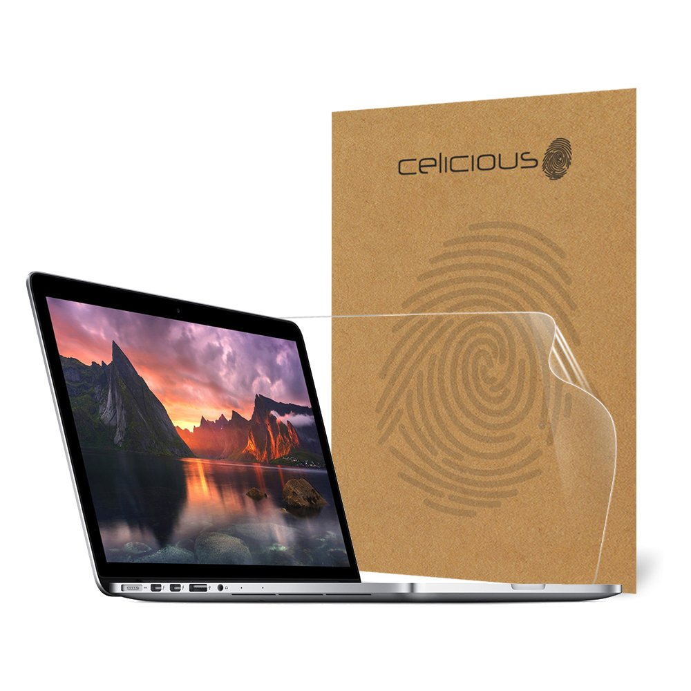 Celicious Impact Anti-Shock Shatterproof Screen Protector Film Compatible with Apple MacBook Pro 13 A1708 (2017)