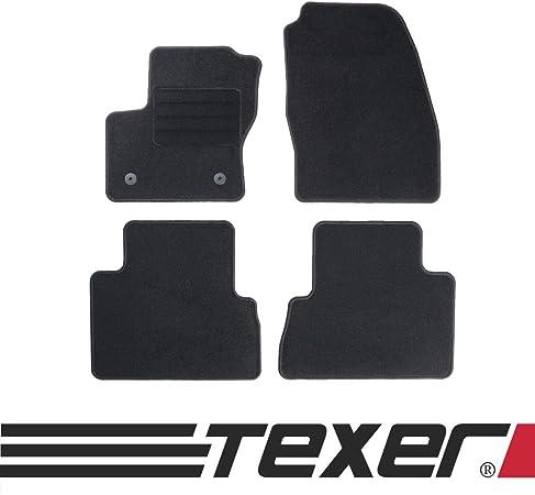 Texer Textil Fußmatten Passend Für Ford C Max Ii Bj 2010 2012 Basic Auto
