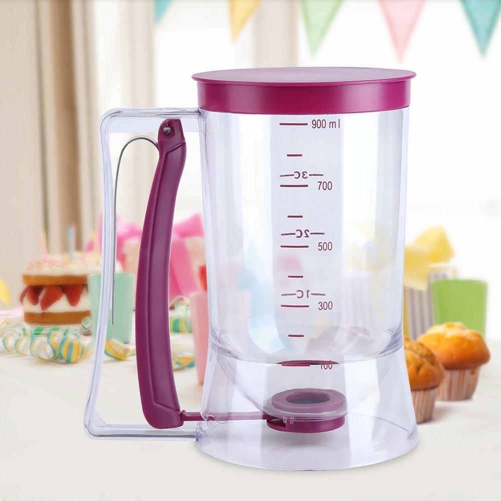 900 ml Teigportionierer Teigspender Mixer Behälter für Cupcakes Muffin Kuchen