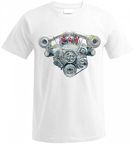 V8 HEMI TWIN TURBO ENGINE CAMARO MUSTANG CHALLENGER SHELBY GT T-shirt size S-