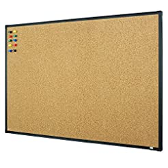 Lockways Bulletin Cork Board, 3 x 2 Noti...