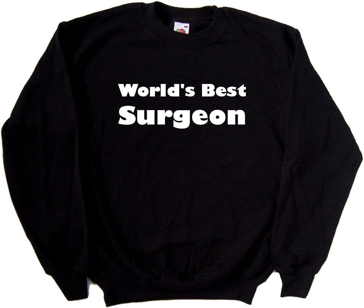 Worlds Best Surgeon Black Sweatshirt