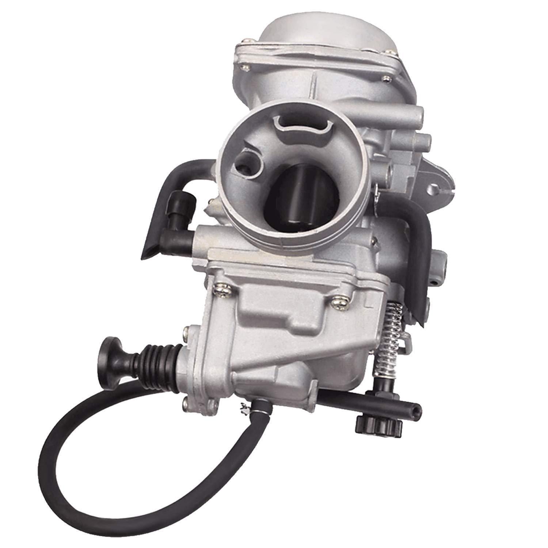 HONDA TRX350 ATV CARBURETOR TRX 350 RANCHER 350ES/FE/FMTE/TM/CARB 2000-2006 TRX300 1988-2000 TRX400 TRX 400FW Foreman CARB, TRX 450 Carburetor TRX450FE 450FE FE Foreman CARB by BETOOLL (Image #1)