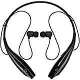 Bainsh HBS-03 Neckband Bluetooth Headphones with Mic for all Smartphones