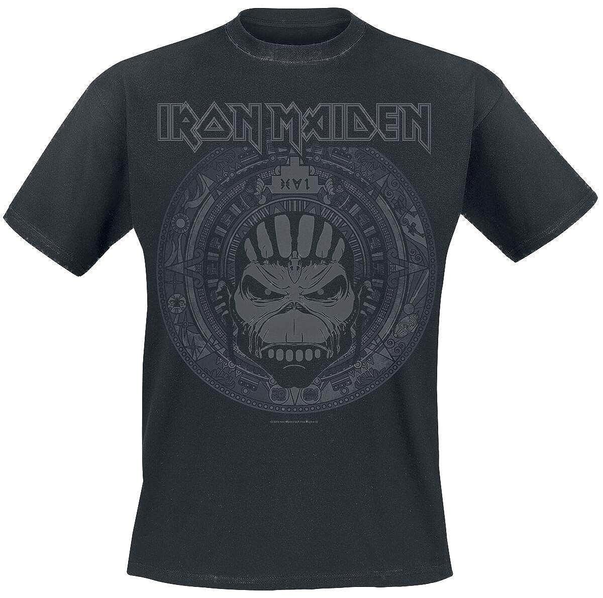 Iron Maiden Book of Souls Skull T-Shirt schwarz M