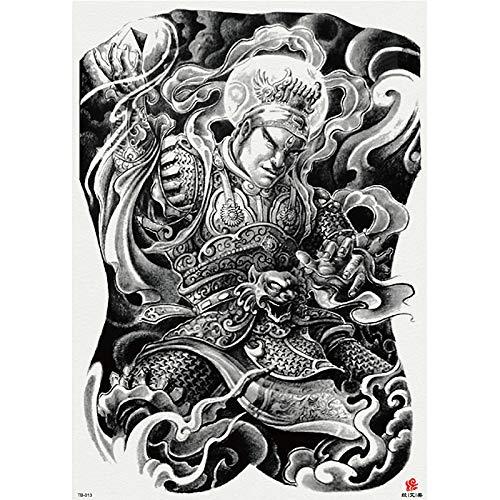 Handaxian Pegatinas de Tatuaje de Espalda Completa Pegatinas de ...