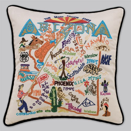 Arizona Pillow by Catstudio Embroidered Pillow