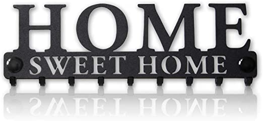 Hangers Wall Hook Coat Hook Home Sweet Home Wall Plaque with Hooks Home