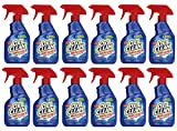 OxiClean Max Force Laundry Stain Remover Spray 12 ounce, 12 Pack