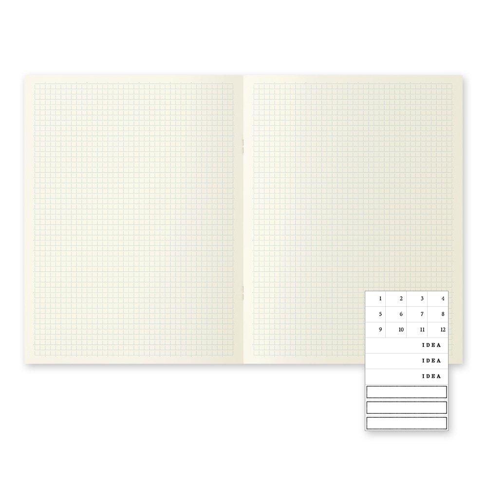 MIDORI MD Notebook Light A4 Variant (Gridded) 3 pcs/pack by Desighnphil (Image #3)