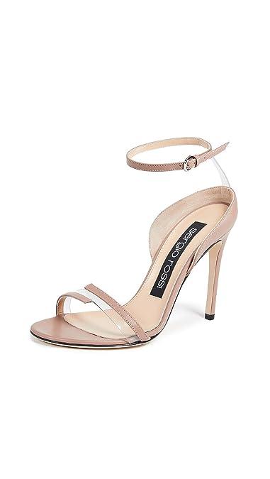 reputable site f87fc 54de3 Amazon.com | Sergio Rossi Women's Karen 2 Band Sandals | Sandals