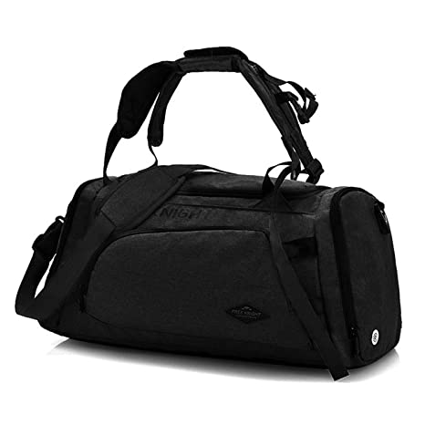 OCCIENTEC 35L Gym Sports Bag with Shoes Compartment Water Carry on Travel Duffel  Bag and Light 3880c821796b3