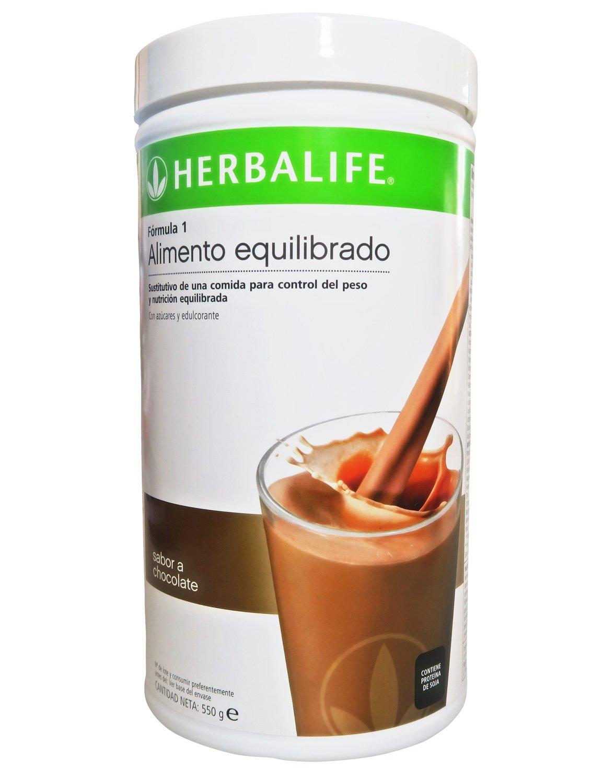 Herbalife Batido Fórmula 1 Chocolate bote 550g: Amazon.es: Salud y cuidado personal
