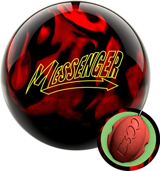 Columbia 300 Messenger Red Black Bowling Ball